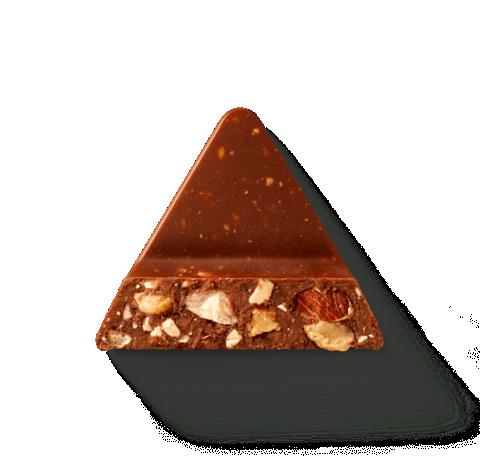 brown toblerone chocolate chunk
